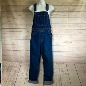 American Apparel Overalls medium wash
